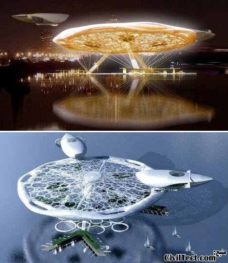 عجیب ترین و جالبترین طرح های معماری هتل (سری ۲)