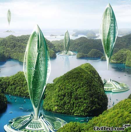 سازه های پرنده در آینده!