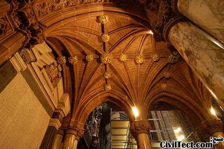 سقف کلیسای چستر (Chester Cathedral) در انگلیس - زیباترین سقف های طاقی دنیا