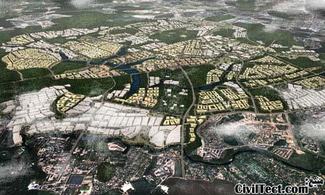 توسعه شهر مسکو روسیه - طرح توسعه شهری مسکو