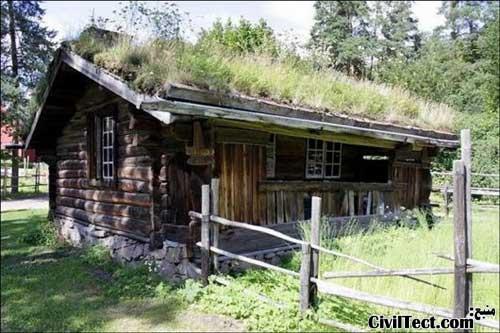خانه های روستایی نروژ - خانه های چوبی