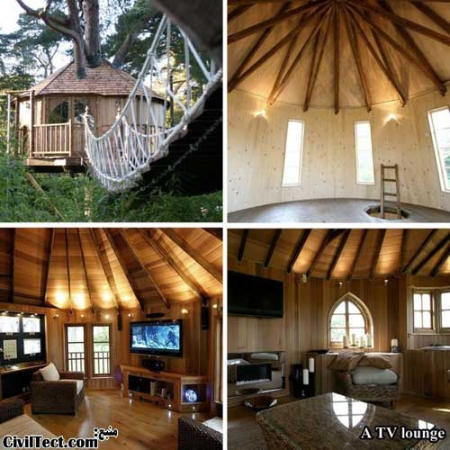 جالبترین خانه های درختی – قسمت ۱