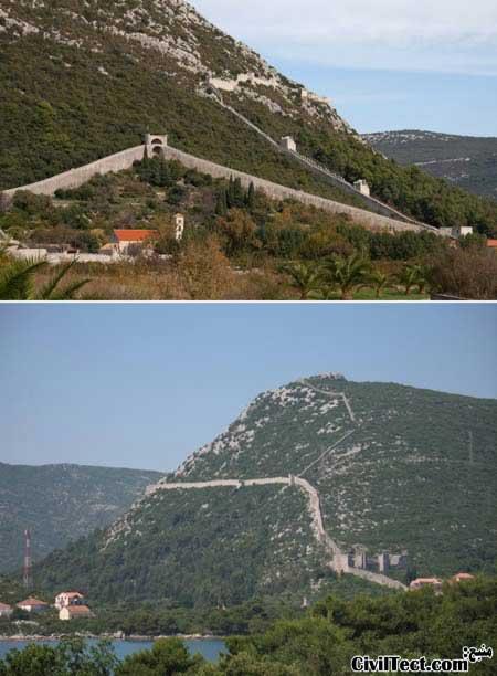 دیوار کرواسی - دیوارهای جدا کننده عظیم