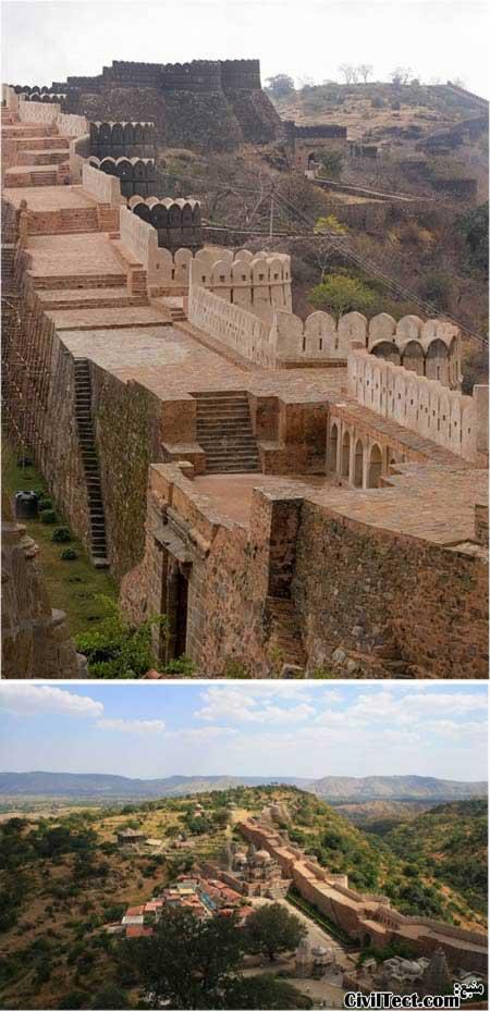 دیوار هند - طولانی ترین دیوارهای جهان