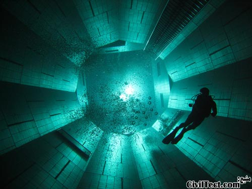 Nemo 33 - نمو 33 عمیق ترین استخر دنیا در بروکسل