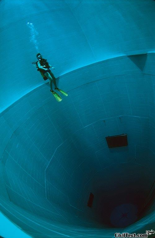 عمیق ترین استخر شنا در دنیا