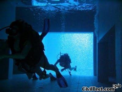 عبور از تونل زیرآبی