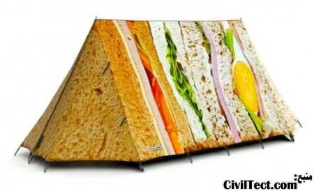 چادر ساندویچی