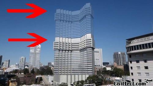 تخریب تدریجی ساختمان به روش TECOREP (ژاپنی)