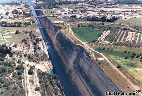 Canal-De-Corinto, Greece - کانال کورنت یونان