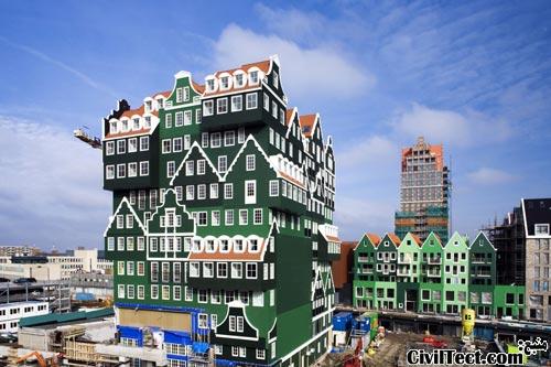 هتل جالب - هلند شهر زندام