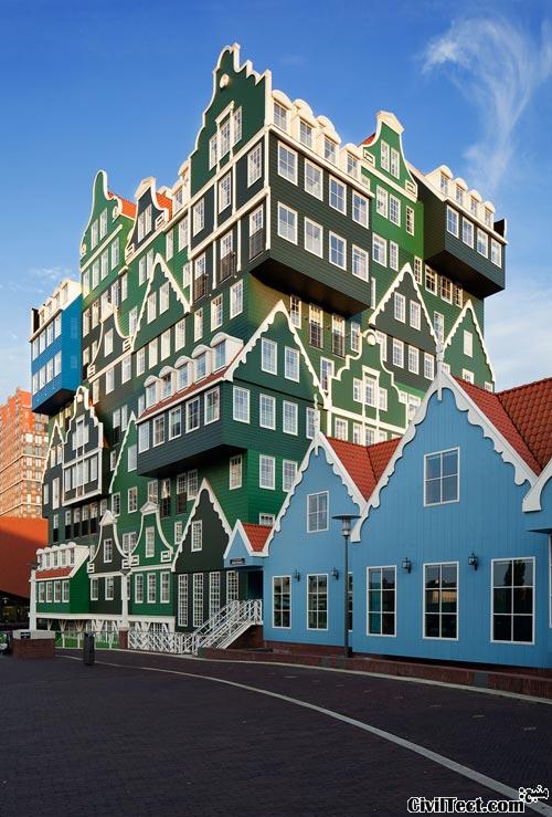 هتل Inntel در نزدیکی آمستردام هلند