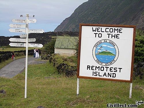 دورافتاده ترین جزیره دنیا
