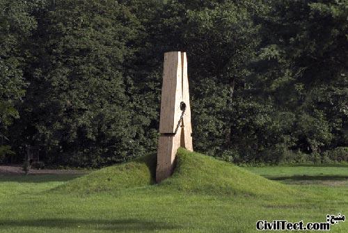 اثر هنری در پارک بلژیک