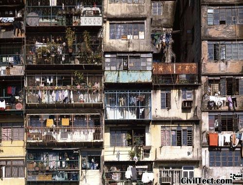 خانه های شهرک Kowloon