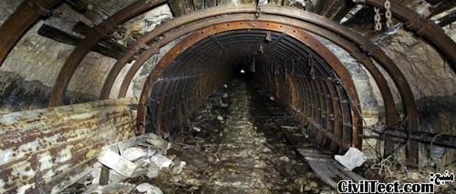 متروی مخفی در صورت بروز جنگ هسته ای!