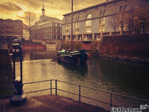 بازدید سیویلتکتی از شهر دوسلدورف آلمان