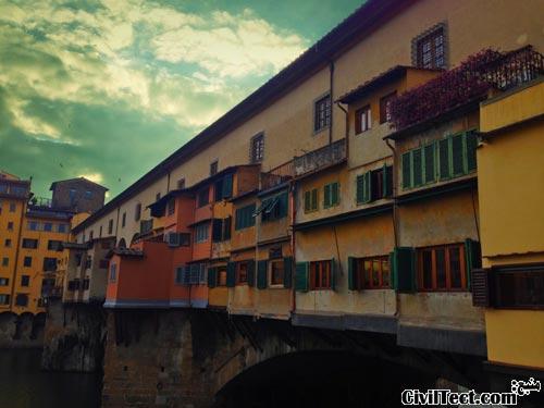 Ponte-Vechhio - پل قدیمی فلورانس ایتالیا