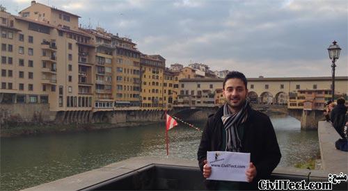 قدیمی ترین و معروفترین پل فلورانس ایتالیا