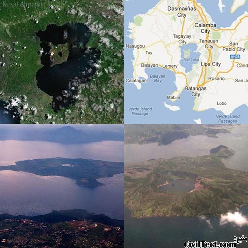 جزیره ای که در خود جزیره ای دارد که دارای یک جزیره است!