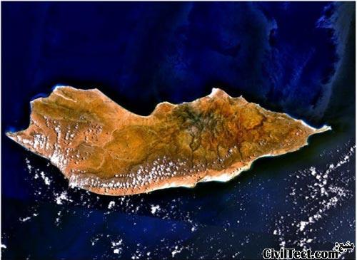 محل جزیره سقطرا - یمن