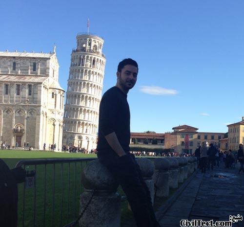 بازدید از برج پیزا ایتالیا