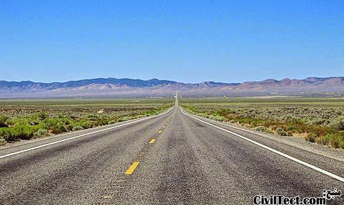 تنهاترین جاده آمریکا