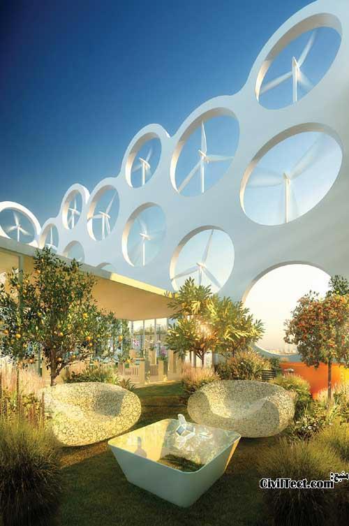برج سازگار با محیط زیست