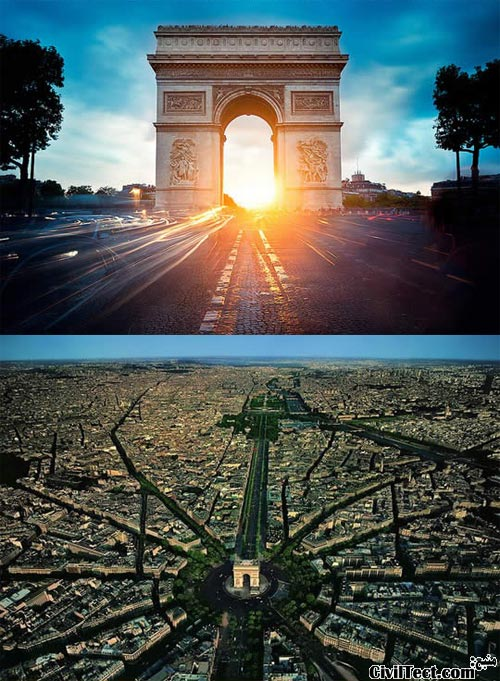 طاق نصرت - طاق پیروزی - Arc de Triomphe