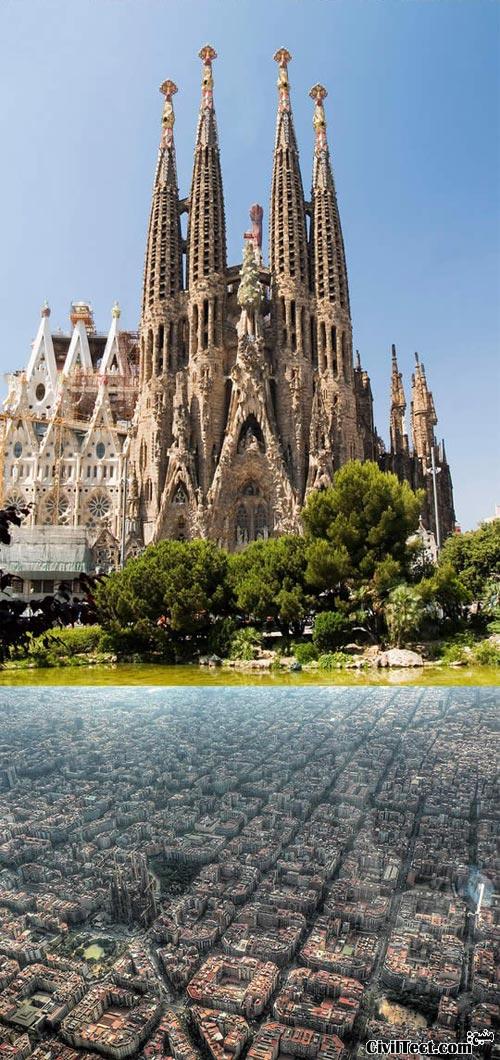 Sagrada Familia - ساگرادا فامیلیا بارسلونا اسپانیا