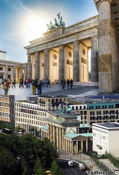 The Brandenburg Gate - Germany - دروازه براندنبورگ آلمان
