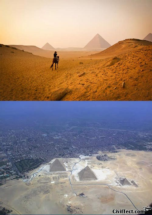 The Great Pyramids of Giza Egypt - اهرام بزرگ جیزه مصر