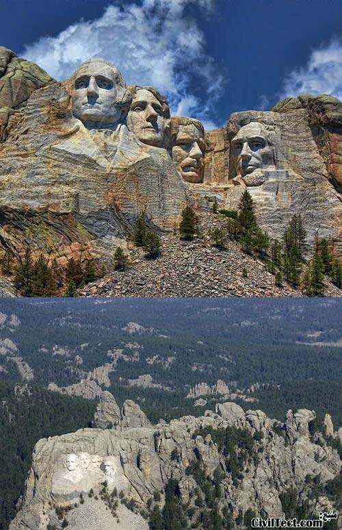 کوه راشمور امریکا - Mount Rushmore USA