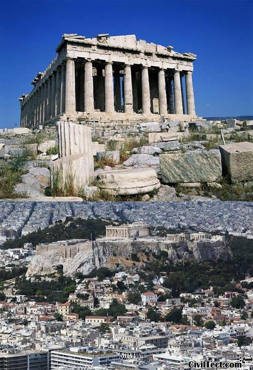 آکروپولیس یونان - Acropolis of Athens Greece