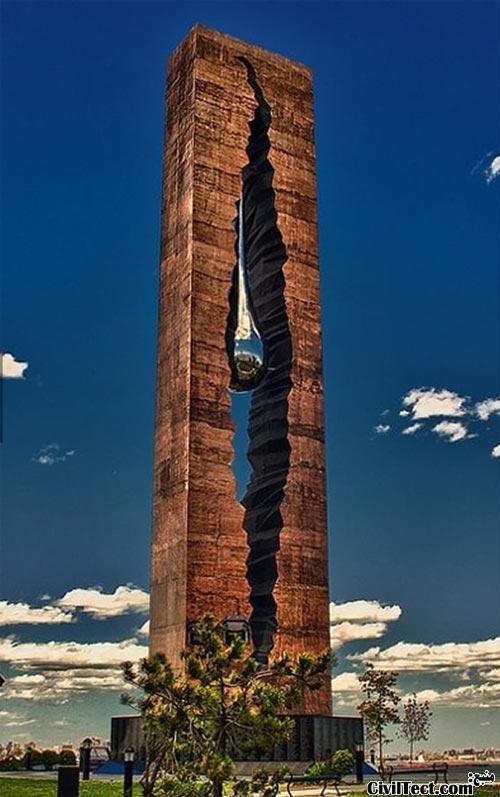 مجسمه قطره اشک – هدیه روسیه به آمریکا