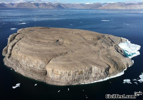 جزیره سنگی – سوژه اختلاف ۴۰ ساله بین کانادا و دانمارک