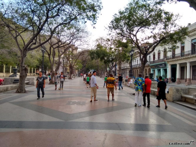 خیابان پرادو هاوانا