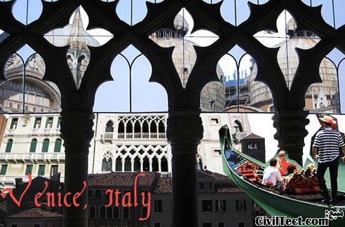 معماری ونیز ایتالیا