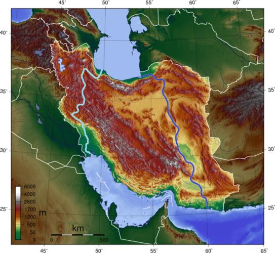 ایران رود – اتصال دریای خزر به خلیج فارس