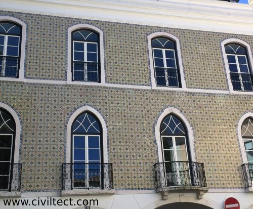 نمونه ای از تاثیر معماری اسلامی در لیسبون