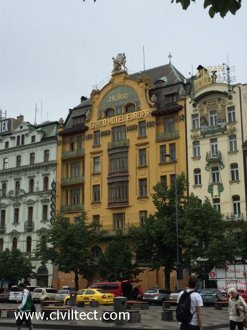 گرند هتل اوروپا پراگ