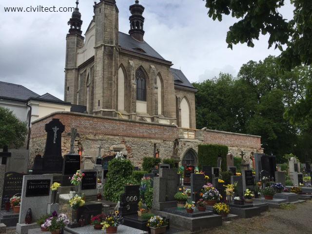 قبرستان بیرونی کلیسای اسکلتی