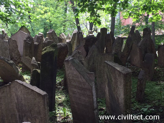 قبرستان یهودیان پراگ