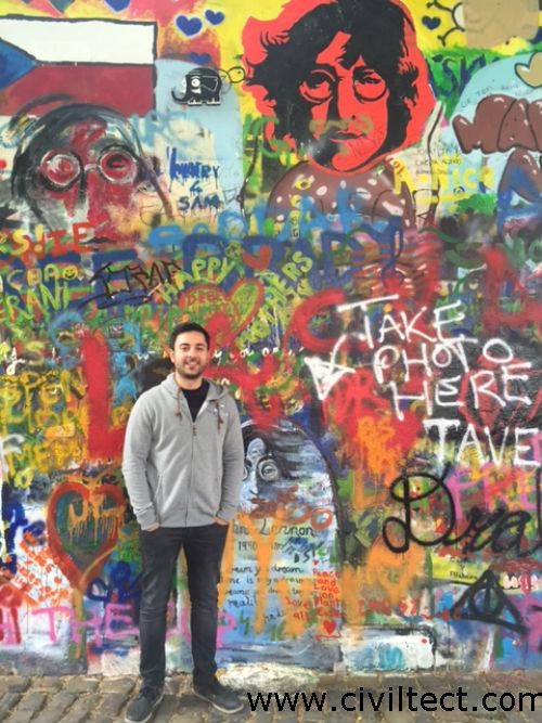 دیوار جان لنون پراگ