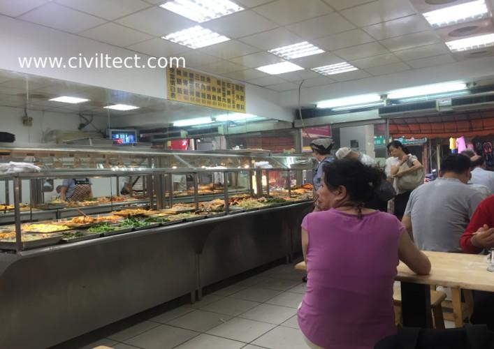رستوران محلی در تایپه